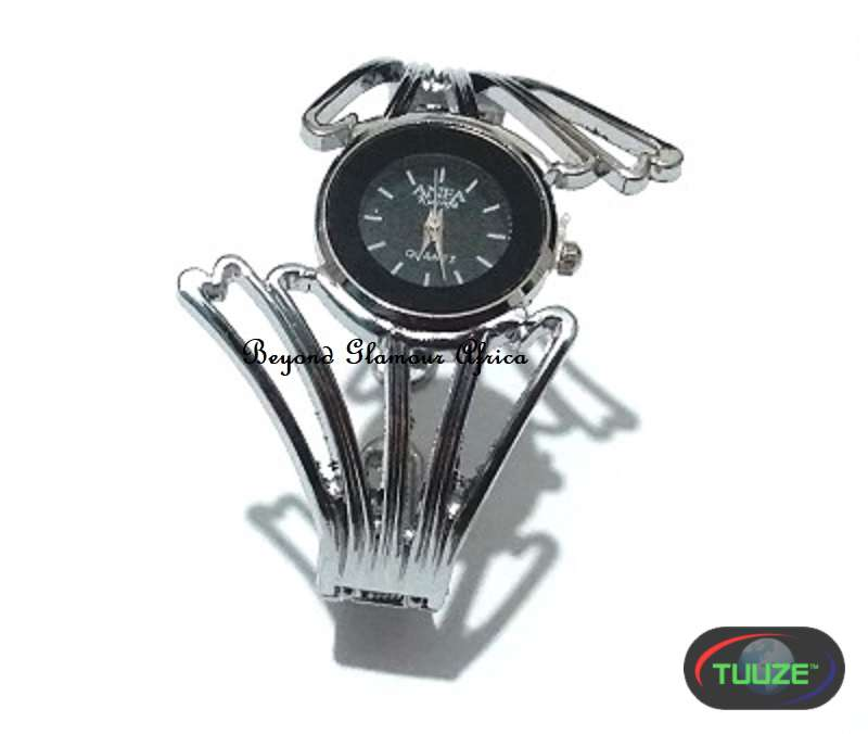 Ladies Silver plated fancy watch