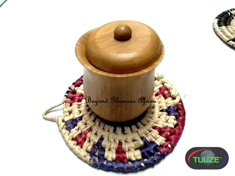 Pink Multi color handwoven coasters