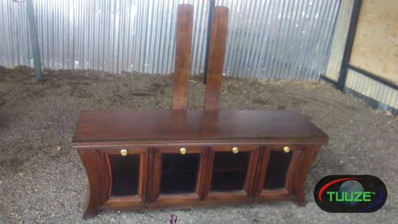Pure Mahogany TV Stand